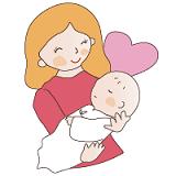 赤ちゃんモードイラスト